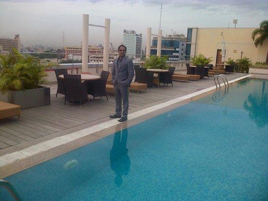 Taj Club House : Roof top