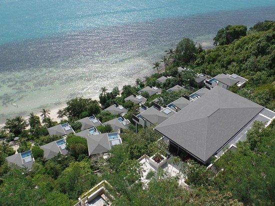 Conrad Koh Samui Resort & Spa: View down from room