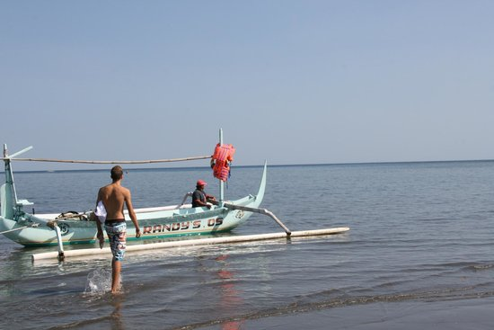 Cleopatra Beach Bungalows : Ophalen voor Cleopatra om te snorkelen