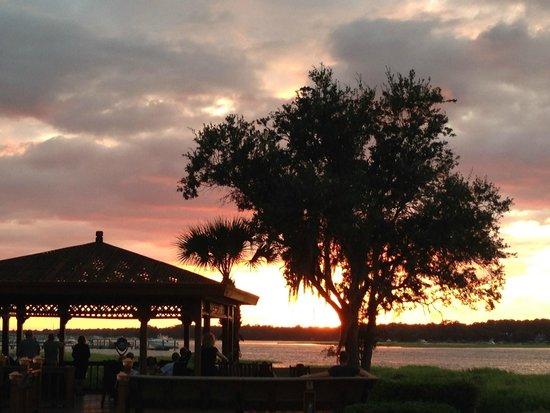 Marriott's Barony Beach Club: sunset