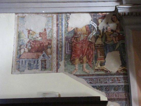 Chiesa di Sant'Anna: affresco