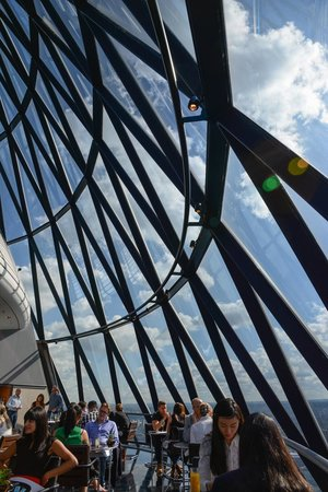 Searcys | The Gherkin : Searcys restaurant at the Gherkin