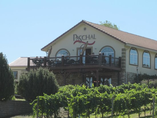Paschal Winery: tasting room