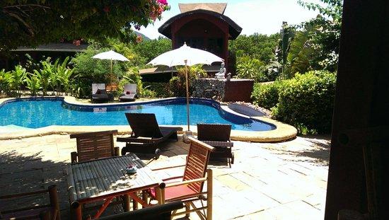 Wazzah Resort: Notre belle piscine