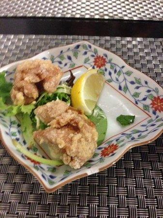 Negishi : beignets de poulet frits