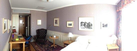 """Icelandair Hotel Reykjavik Natura: Our """"poet"""" room"""