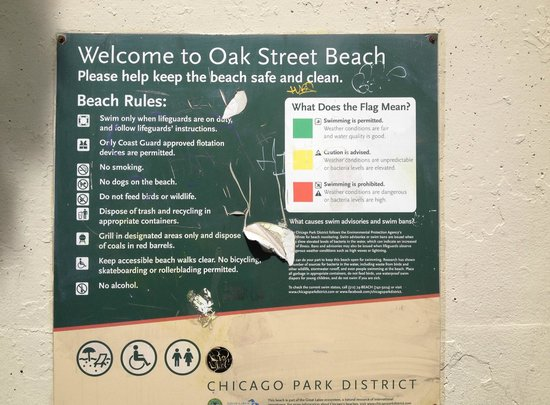 Oak Street Beach Chicago Il