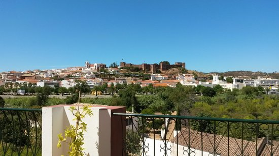 Colina dos Mouros: view from the bar and terrace