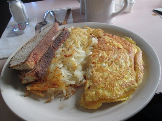 Frank's Diner: American cheese omlet