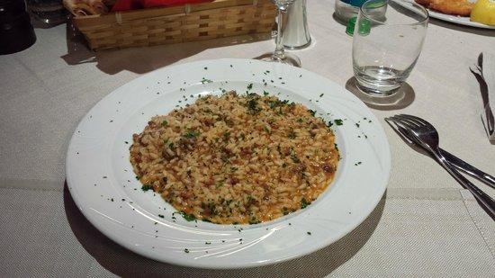 Ristorante Pizzeria Clan Pavì: Risotto di mare