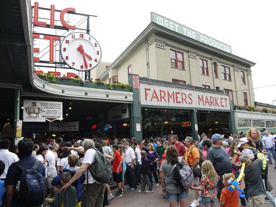 Pike Place Market : 市場