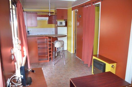 Camping Boltana : Salón