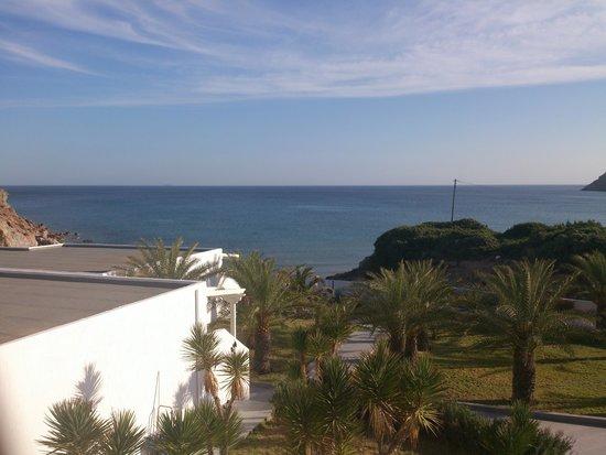 Golden Milos Beach Hotel: sea view