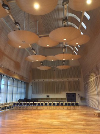 Teatro Real : Sala de ensayo de la orquesta
