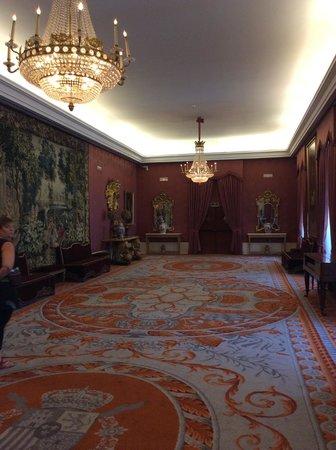 Teatro Real : Una de las salas de recepción