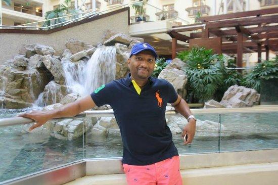 Renaissance Orlando at SeaWorld: Beautiful Lobby!!