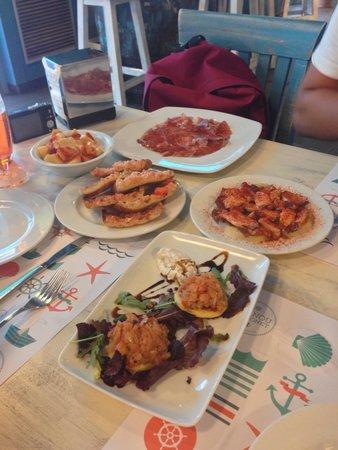 El Nou Ramonet: Les plats à partager sont élaborés et goûteux