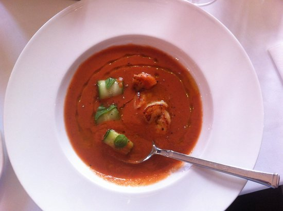 Grand Cafe: Gaspacho out of this world!
