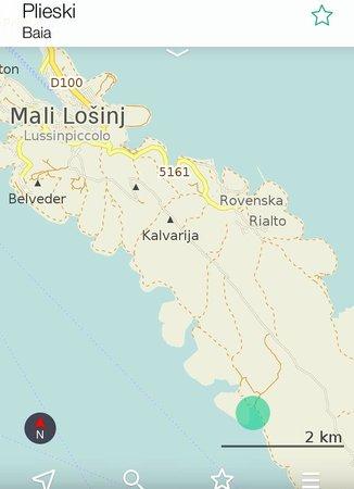 Mali Losinj, Kroasia: Pijeski