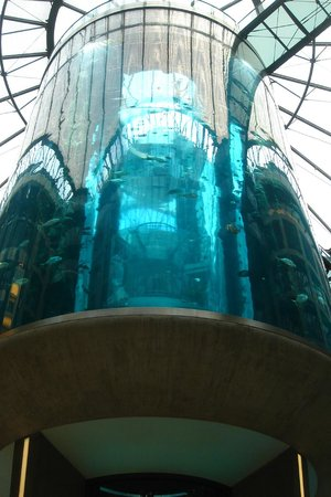 Radisson Blu Hotel, Berlin: Aquarium