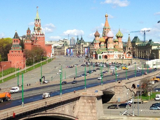 Hotel Baltschug Kempinski Moscow: View from room window