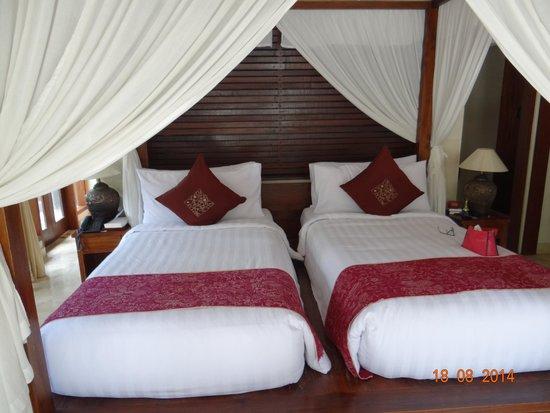 The Ubud Village Resort & Spa: Twin room