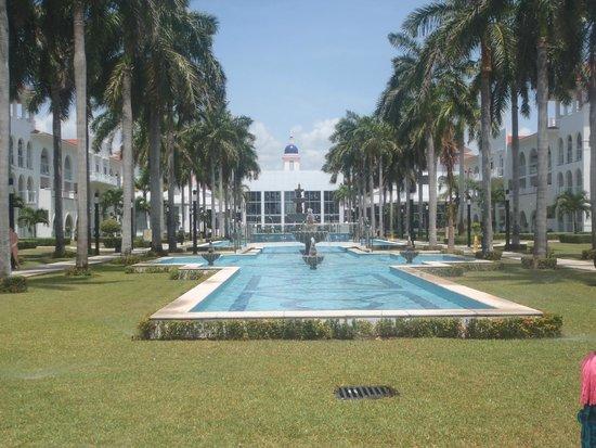 Hotel Riu Palace Mexico : jardines