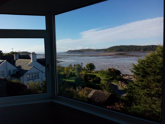 Roughfirth House: view from the suite