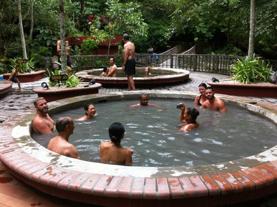 Hotel Borinquen Mountain Resort : Aguas termales