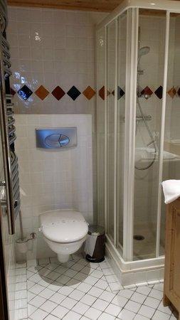 salle de bain avec douche attenant à la chambre - Photo de Residence ...