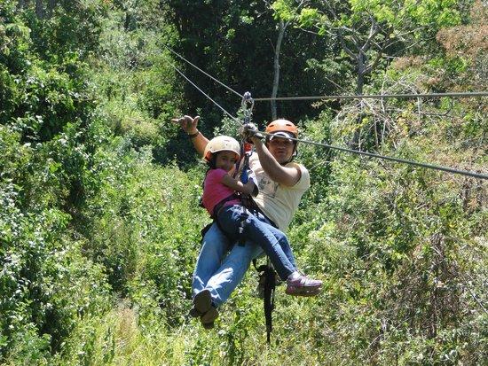 Hotel Borinquen Mountain Resort : Canopy o Zipline