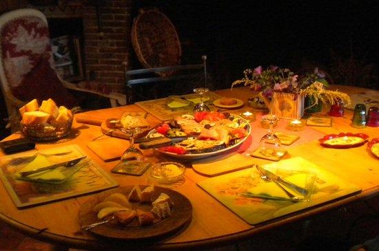 La Boursaie: Anja's dinning room