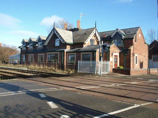 The Old Station: Zoals de naam doet vermoeden; aan het spoor