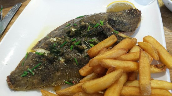 White's Seafood & Steak Bar: 'Hastings' plaice
