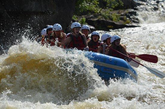 Wildman Adventure Resort: Whitewater Rafting