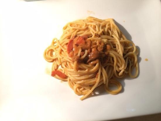 Blu Notte : Spaghetti ai ricci di mare