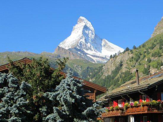 Hotel Eden Wellness: Blick vom Balkon