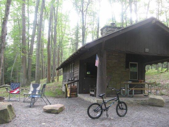 Clear Creek State Park: Cabin 23