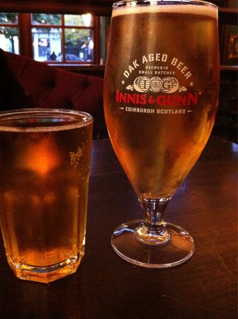 The Black Bull: Cider @ 1.75£ for 1/2 pint & beer @ approx 4.25£ for the pint