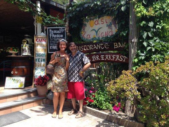 Oasi la Vigna B&B Restaurant: hotel oasi da vigna