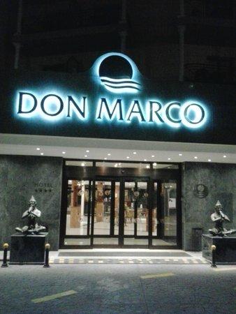 Sol Don Marco : Entrada al hotel