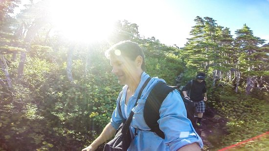 Sitka International Hostel: Hiking Mount Verstovia