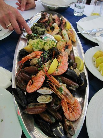 Best Western Premier Hotel Astoria: FRESH FISH ONE OF THE HIGHLIGHTS OF EATING OUR WAY THROUGH CROATIA