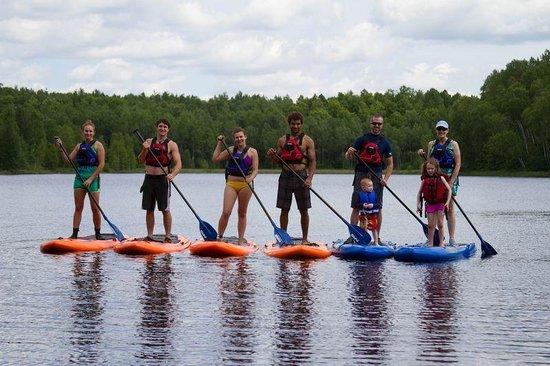 Wildman Adventure Resort: Stand Up Paddle Boarding