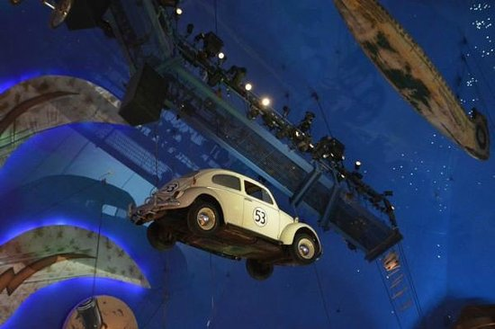 Planet Hollywood : Fusca