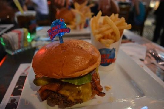 Planet Hollywood : Hamburger