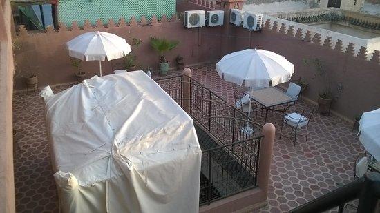 Dar Al Hamra : la terrasse
