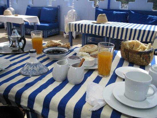 Dar Zambra: la buona colazione al