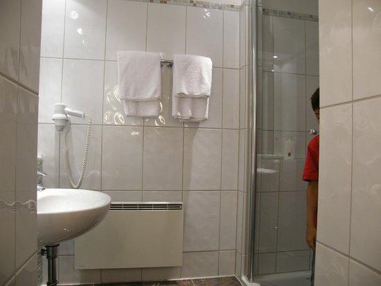 City House: Ванная комната - душевая кабина