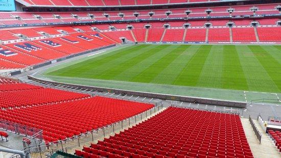 Wembley Stadium: An immaculate pitch